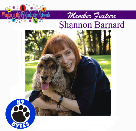 Shannon Barnard's Member Feature - Winter 2018 Top Women in the Pet Industry Magazine