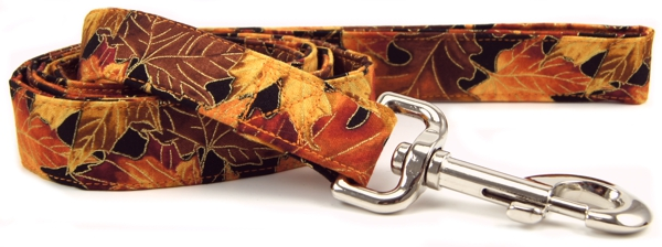 Autumn Leaves Dog Leash