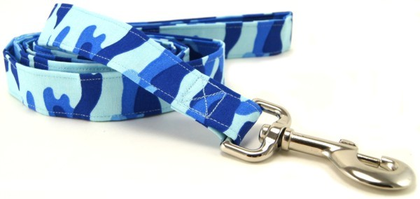 Blue Camo Dog Leash