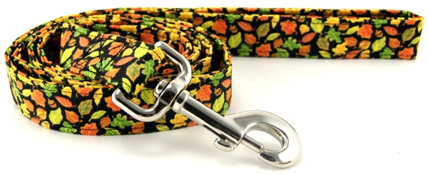 Fall Leaves dog leash