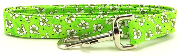 Green Hawaiian Dog Leash