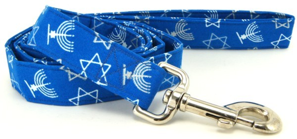 Hanukkah Outline Dog Lead