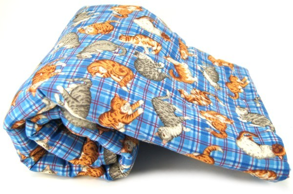 Plaid Cats Pet Blanket