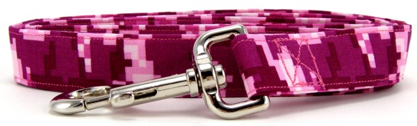 Digital Pink Camo Dog Leash