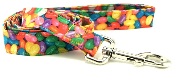 Real Jelly Beans Dog Leash