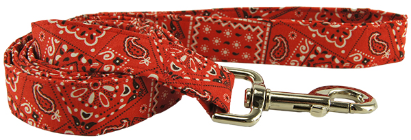 Red Bandana Dog Leash