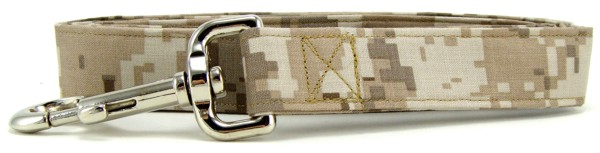 Tan Digital Camo Dog Leash