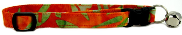 Tropical Batik Cat Collar