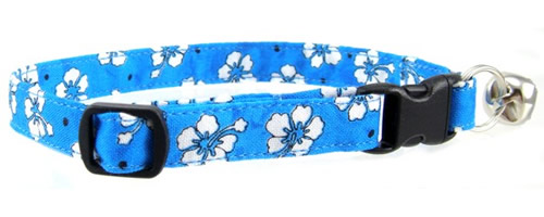 Flowers and Nature Print Cat Collars