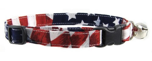 Patriotic, Camo and Bandana Cat Collars