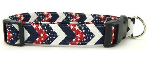 4th of July - Memorial Day Dog Collars