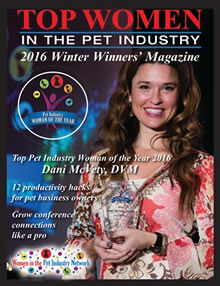 Winter 2016 Top Women in the Pet Industry Magazine